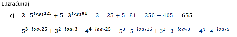 Logaritamske jednačine