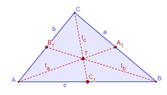 Težište trougla
