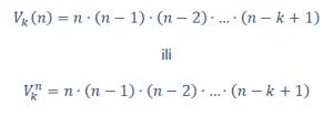varijacije bez ponavljanja