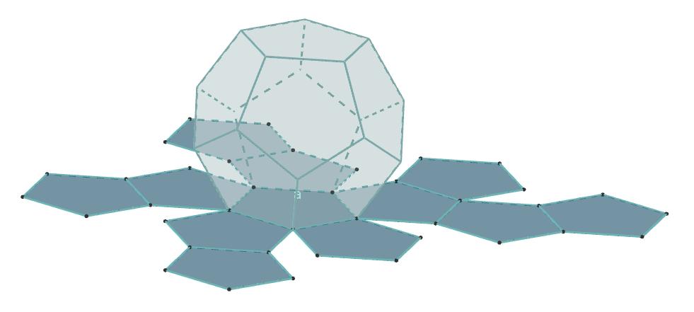 Poliedri -Mreža dodekaedar