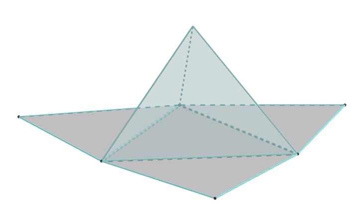 Poliedri Mreža tetraedra