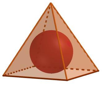 Lopta upisana u piramidu